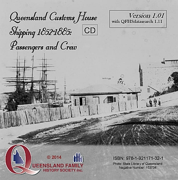Queensland Customs House Shipping 1852-1885: Passengers and Crew